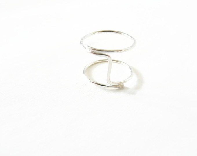 Sterling Silver Index Finger Ring For Women Handmade Jewelry For Her
