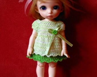 PukiFee, Lati Yellow, Middie Blythe dress/tunic - green