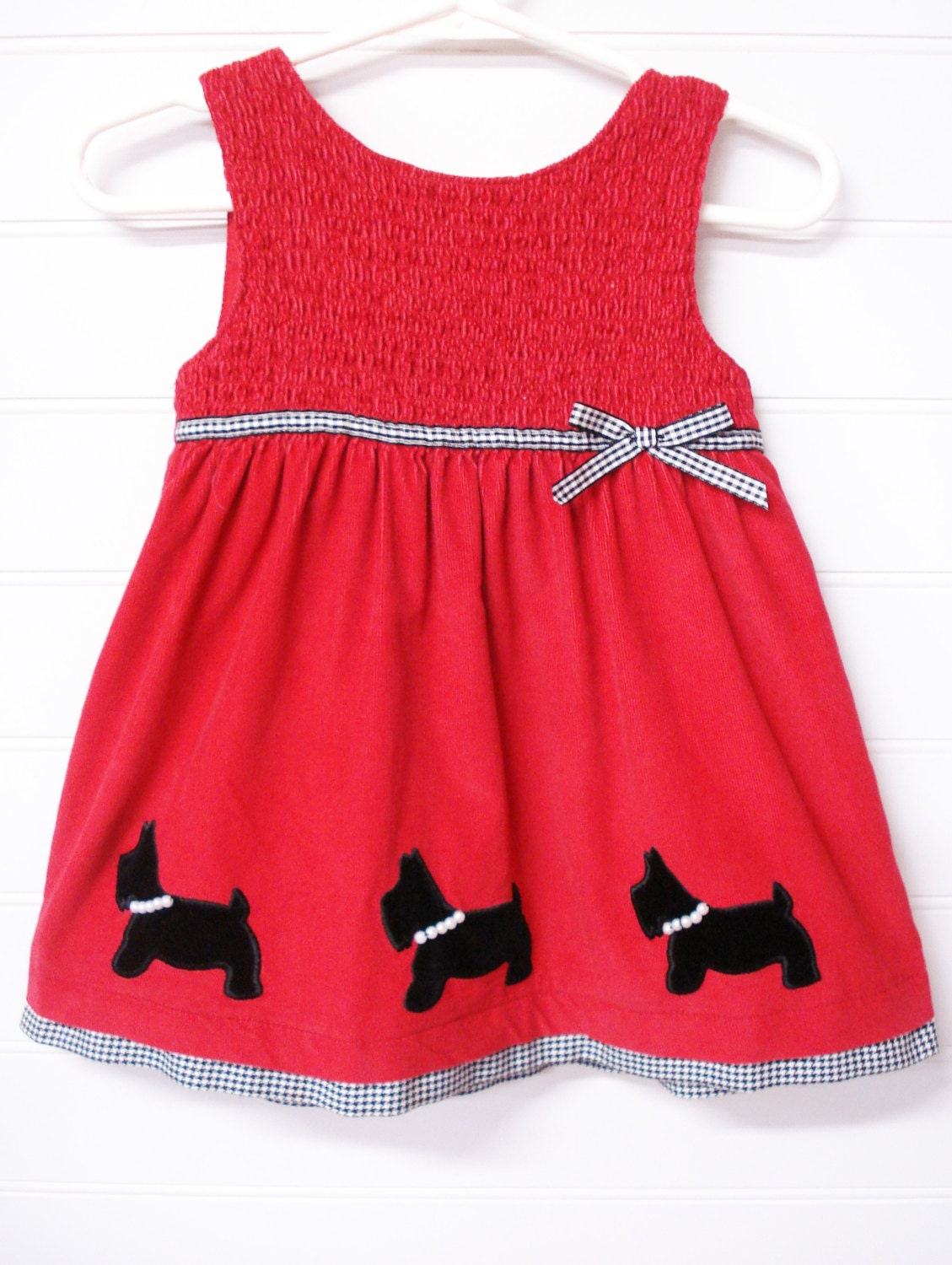 vintage baby clothes toddler dress corduroy