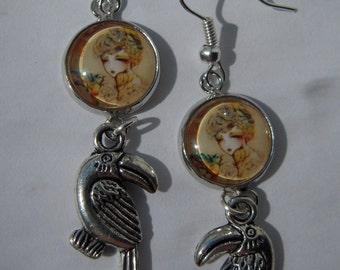 Girl-brid earrings ORIGINAL