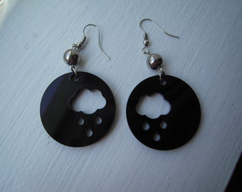 Nice special laser cut earrings