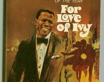 Sidney Poitier For Love Of Ivy Vintage Movie Paperback Stated 1st Ed 1960s