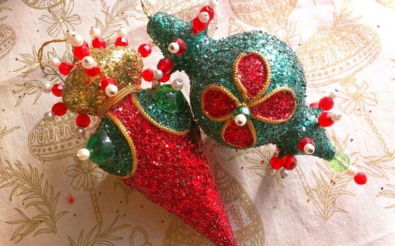 Sale Vintage Christmas Ornament Sputnik Atomic Large By