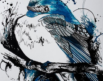 The Blue Swallow