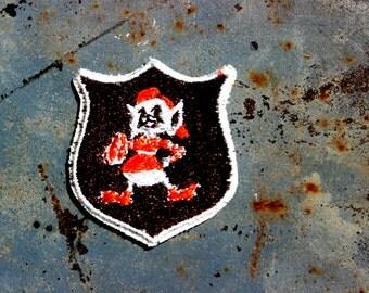 Vintage Cleveland Browns Brownie Elf Patch