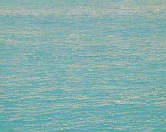 Gradient Beach - Photographic Print - Australia, Bohemian, beach, aqua, sea, boho, beachy, travel, tropical, Wall, Decor,
