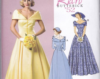 B5325 Butterick Wedding Dress Sewing Pattern by ...