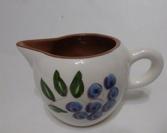 Stangl Blueberry Pattern Creamer