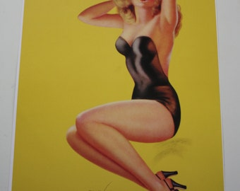Billy DeVorss 1945 Pose Please Pin-Up