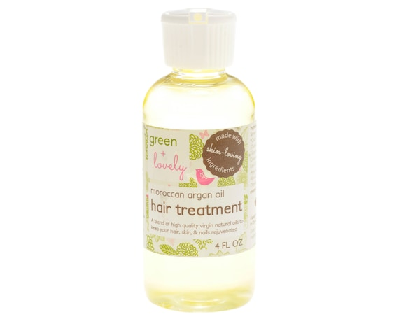 4 oz, Moroccan Argan Oil Hair Treatment. Honey Almond. Nourishing. For dry hair, skin, and nails.