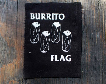 BURRITO FLAG Patch