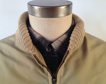 Vintage 70s/80s Lined Car Coat Made by JC Penney Size Large