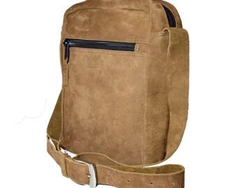 Handmade Leather Book Bag