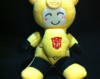 Transformers  Plush Plushie BittyBot Bumblebee Toy from Mythfits