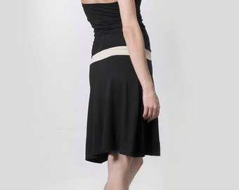 Dress Hoody black/sand