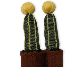 Knitted Cactus with pot