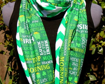 St. Patrick's Day Luck of the Irish Infinity Scarf