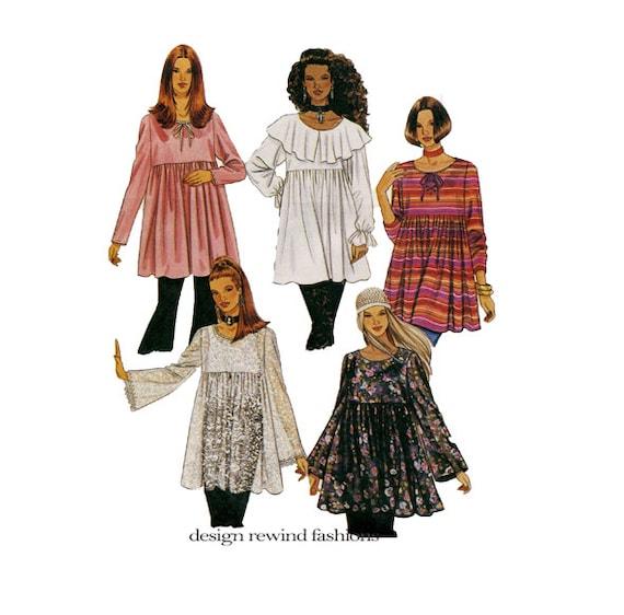 Mccalls Patterns Peasant Blouse 82
