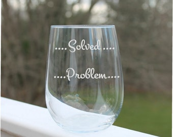 stemless wine glasses,, Etched Stemless wine glass, funny wine glasses,  Wine Glass, Etched  Wine Glasses, stemless wine glasses
