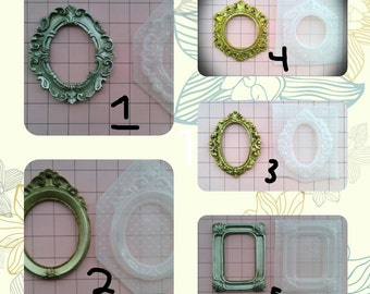 Ornate Frames Plastic Resin Mold Many Different Styles You Choose