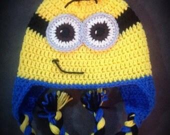 Crochet Funny Men Hat
