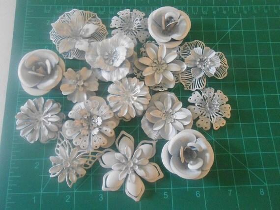 DIY Brooch Bouquet Enamel Flower Brooch 15 Pc DIY KIT Ready