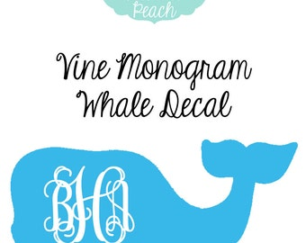 Handmade Vineyard Vines Sticker Etsy