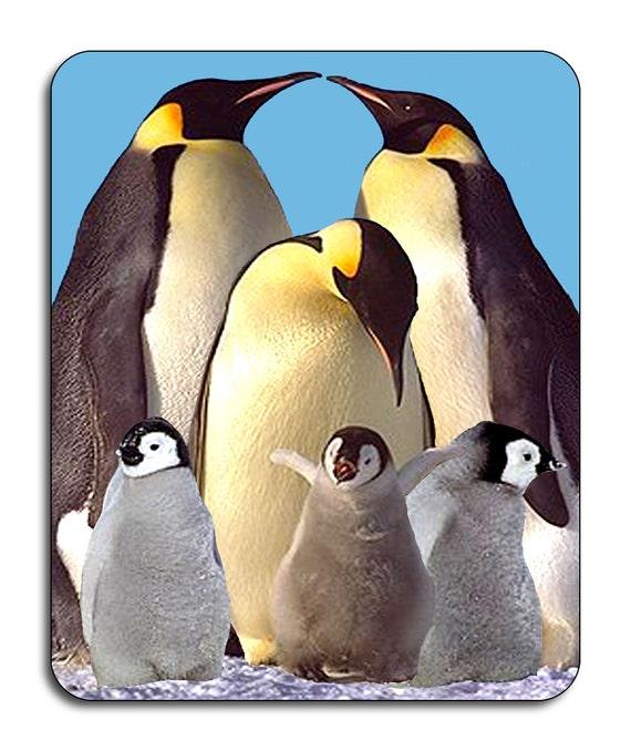 Penguins Mouse Mat Mouse Pad