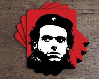 Robb Stark as Che Guevara Game of Thrones Parody Coaster Set