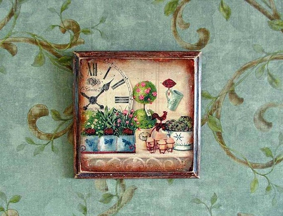 Provence style Provence decor Rooster decor Home Decor Vintage style ...