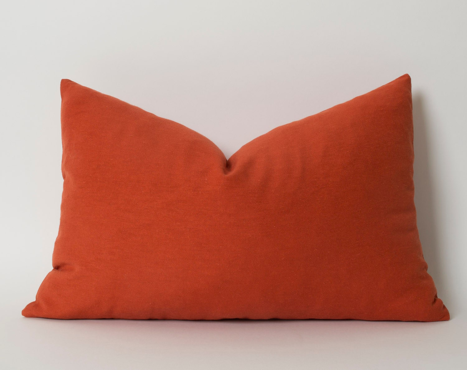 Terracotta Pillow Cover 12x18 Inch Decorative Pillow By