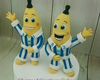 Banana And Pyjamas Edible Cake Topper