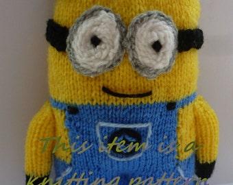PDF knitting pattern: Minion (large)