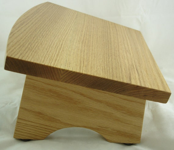 Wooden nursing foot stool footrest footstool wood ergonomic - Repose pied pour bureau ...