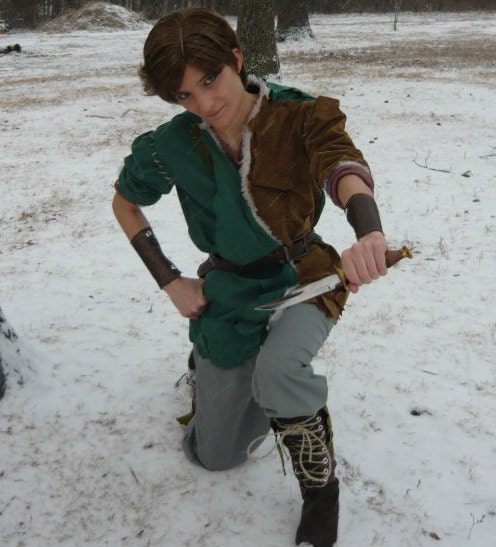 Once Upon A Time Costumes: Cosplay Peter Pan From Once Upon A Time Inspired Costume