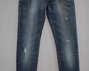 Vintage DIESEL jeans , Larkee advance patina jeans , mens jeans ...