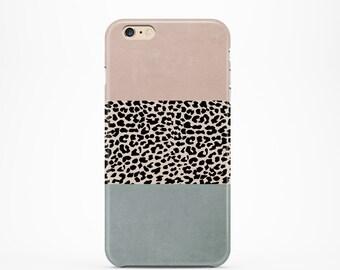 iPhone 7 case tough, iPhone 7 Plus case tough, iPhone 6 case tough, iPhone 5 case tough, personalized iPhone, phone case  - Leopard