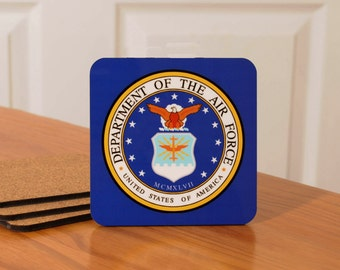 U.S. Marines Coasters - set of 4