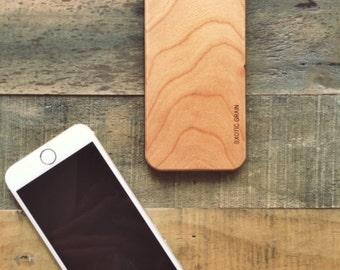 iPhone 6 Cherry Wood Case
