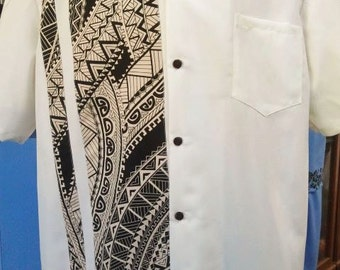 Men's Polynesian Tribal Shirt