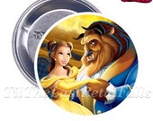 Beauty And The Beast - Your Choice of 2-1/4 inch Button Product Accessory