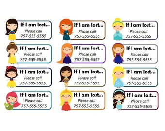 Custom Temporary Tattoos - Emergency Contact Info / If Lost