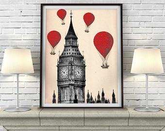 London Room Decor Etsy