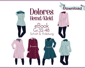 eBook Dolores - shirt/dress