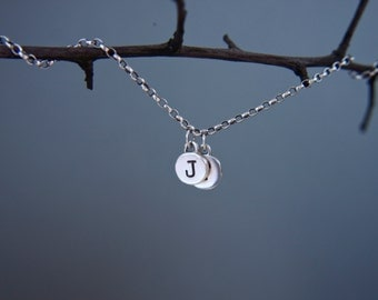 Personalised, initial bracelet.Custom made.Sterling silver, personalized jewellery.Hand made.