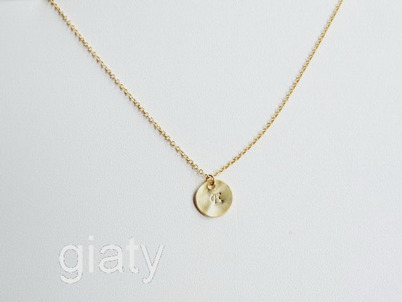 cursive initial necklace initial necklace personalized