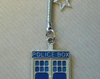 Dr Who / tardis  keyring