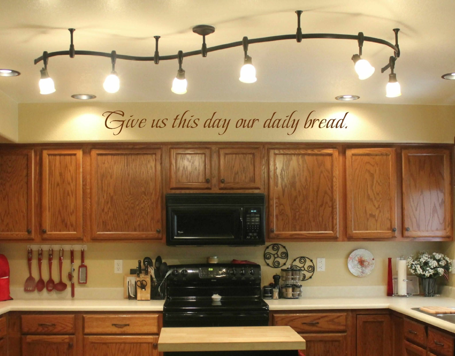 Kitchen Wall Decal Wall Vinyls Decals Art Give Us This Day