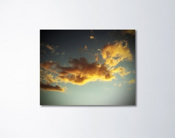 Large Art, Cloud Photography, Large Canvas Art, Peaceful Art, Fine Art Photography On Canvas, Sky Art, Ready To Hang Wall Art, Home Decor