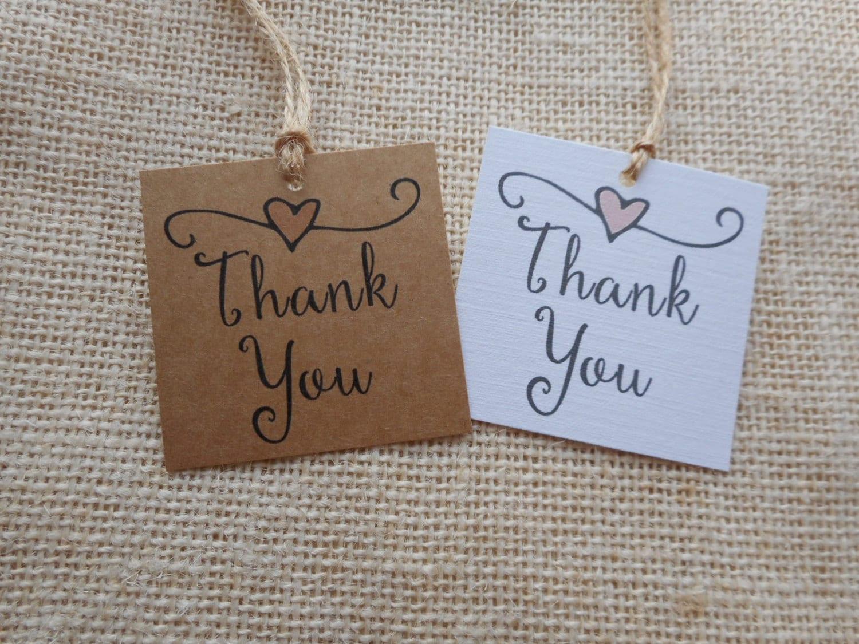 Wedding Gift Tags To Print : thank you tags printable wedding favor tags thank you